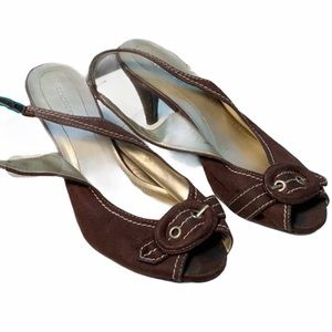 Predictions Brown Heels, size 8.5